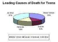 35% of 15-20 year olds who die, die from traffic crashes!